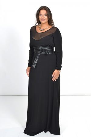 Φόρεμα Μάξι με Τούλι στο Μπούστο