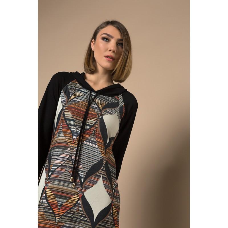 Fuego Fashion - φορεματα μιντι καρω loyreks