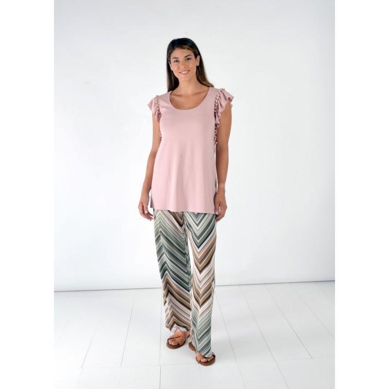 Μπλούζα με Pon-Pon Μπλούζες xxl