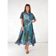 Φόρεμα Κουμπωτό Εμπριμέ