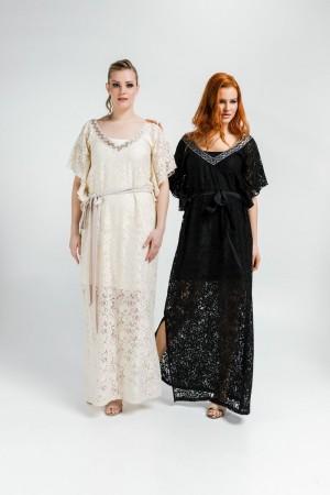 Φόρεμα Καφτάνι Δαντέλα