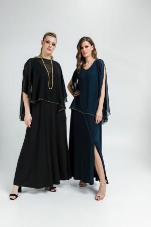 Φόρεμα Ασύμμετρη Μουσελίνα