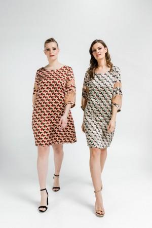Φόρεμα Σατέν Τούλι Λεπτομέρειες
