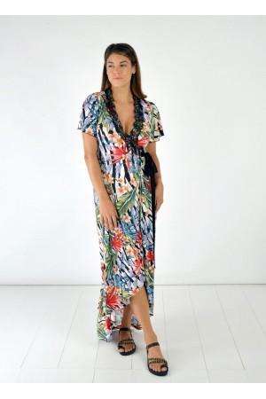 Φόρεμα Ασύμμετρο Κρουαζέ