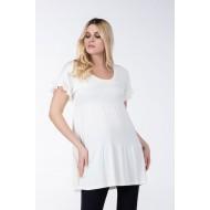 Μπλούζα-Φόρεμα με Βολάν