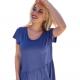 Μοντερνα plus size ρουχα - Μπλούζα με Ασύμμετρη