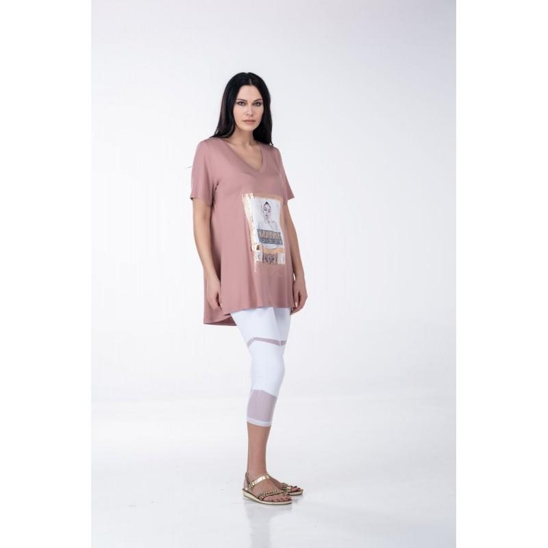 Fuego Fashion - Κολάν με Φάσες Τούλι Κολάν xxl