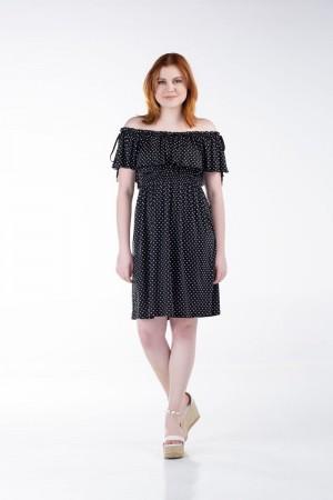 Φόρεμα Κοντό με Λάστιχο