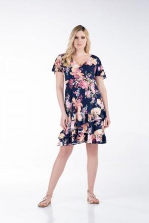 Φόρεμα Κρουαζέ Κοντό