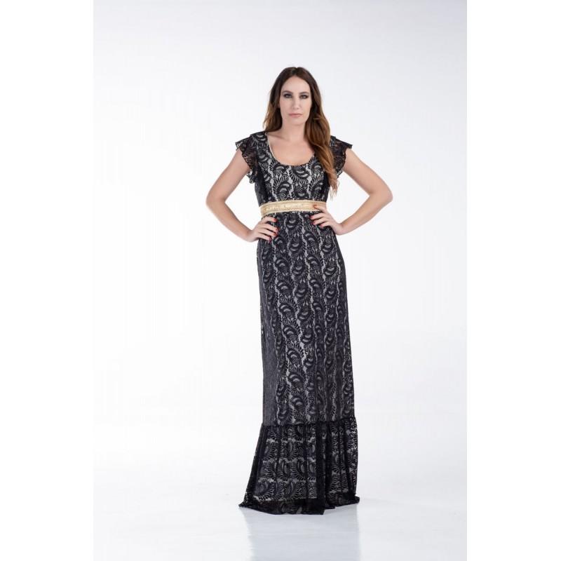 Φόρεμα Μάξι Δαντέλα Φορέματα xxl