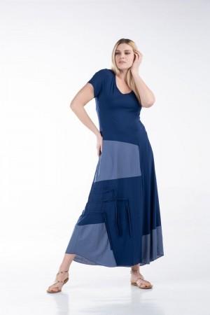 Φόρεμα με Λούρεξ και Ρέλια