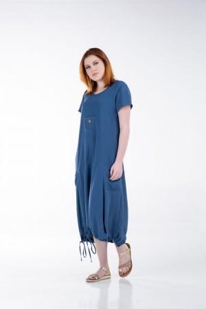 Φόρεμα με Κορδόνι στο Στρίφωμα
