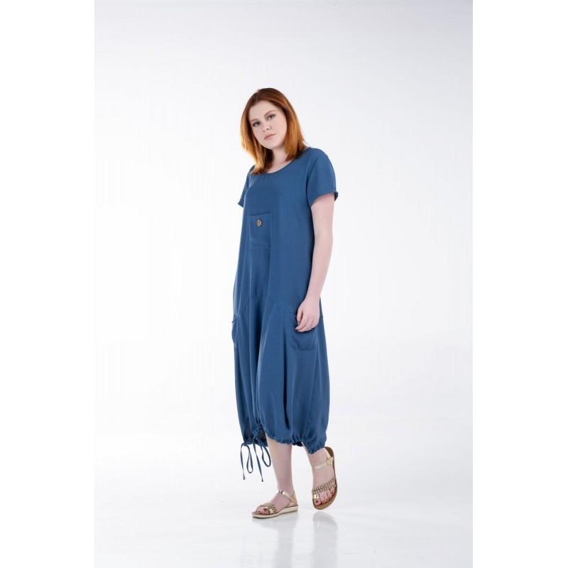 Φόρεμα με Κορδόνι στο Στρίφωμα  Φορέματα xxl