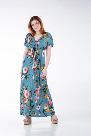 Φόρεμα Μακρύ με Κόμπο