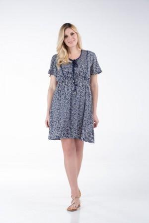 Φόρεμα με Μονόχρωμα Ρέλια