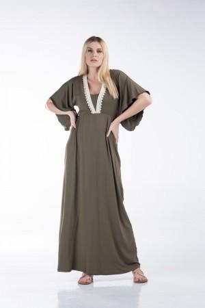 Φόρεμα με Τρέσα στο Μπούστο