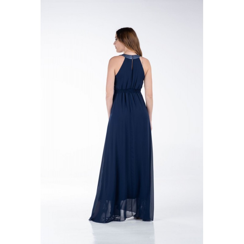 Φόρεμα Μάξι με Λούρεξ Φάσες Φορέματα xxl