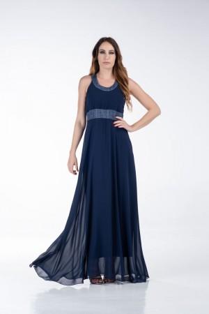 Φόρεμα Μάξι με Λούρεξ Φάσες