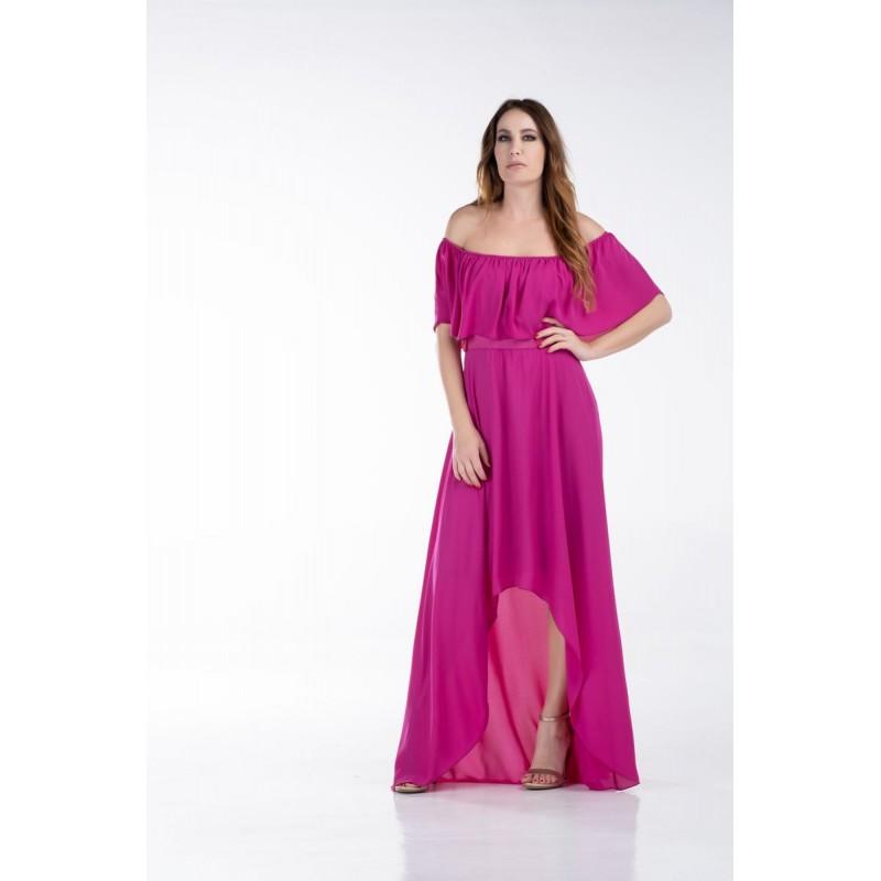 Φόρεμα Αμάνικο με Τρέσα Φορέματα xxl