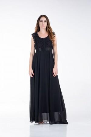 Φόρεμα με Δαντέλες στο Μπούστο