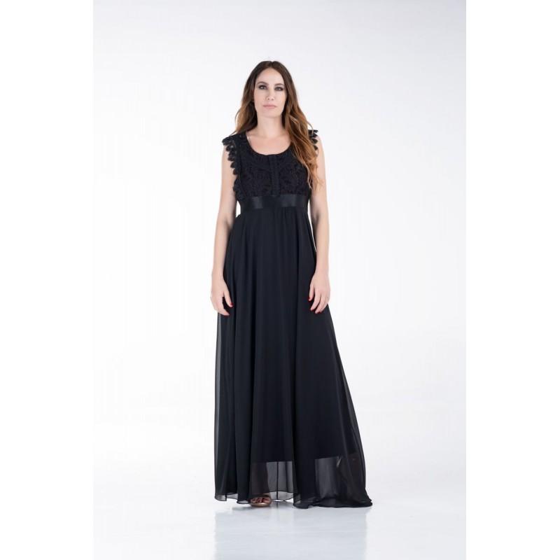 Φόρεμα με Δαντέλες στο Μπούστο Φορέματα xxl