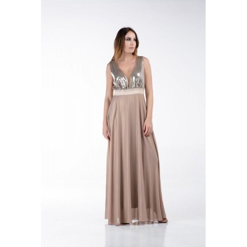 Φόρεμα Μουσελίνα Παγιέτα Φορέματα xxl