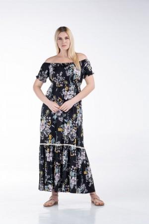 Φόρεμα με Λάστιχα