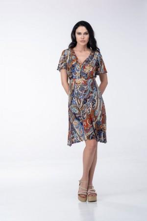 Φόρεμα Κοντό Κρουαζέ
