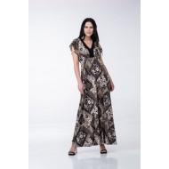 Φόρεμα με Βολάν στα Μανίκια