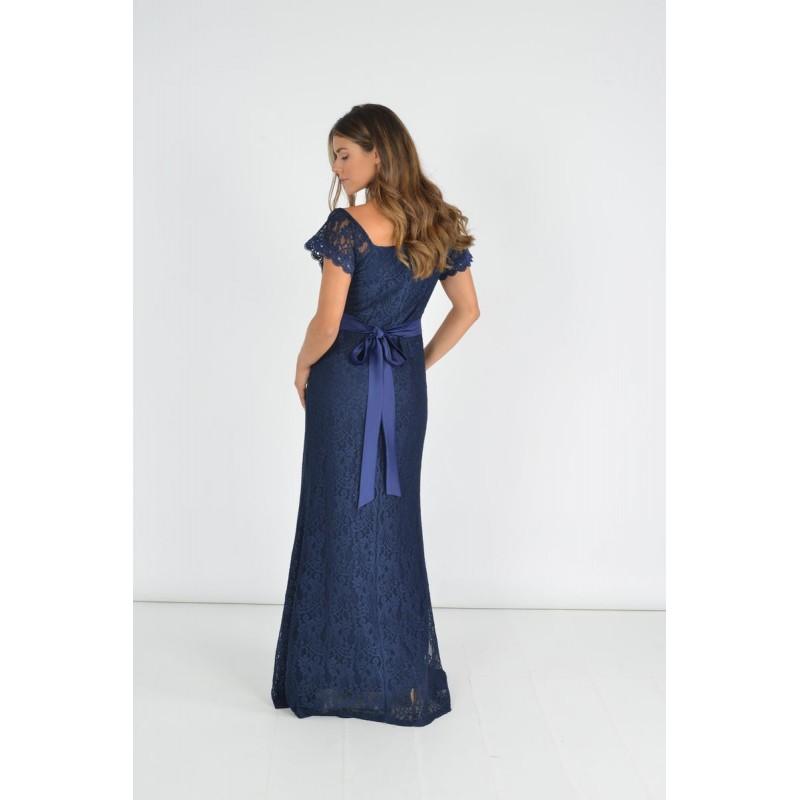 Οικονομικα Βραδινα Φορεματα - Φόρεμα Γοργονέ με Ζώνη Φορέματα xxl