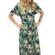 Φόρεμα Κρουαζέ Εμπριμέ  Φορέματα xxl