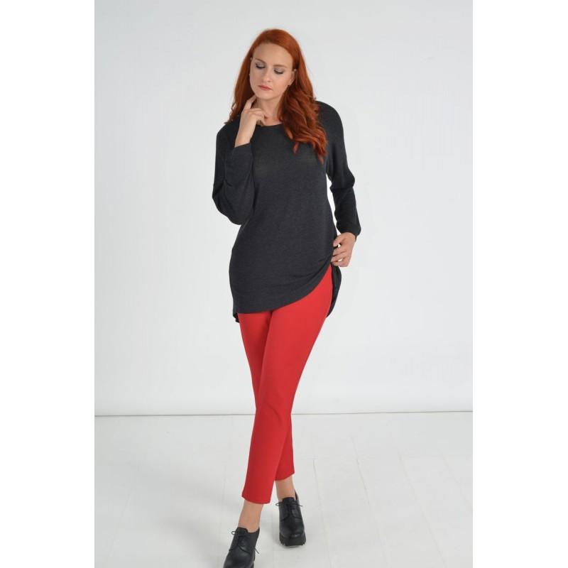 Μοντερνα plus size ρουχα - Μπλουζες xxl - Μπλουζες - Fuego Fashion - Μπλούζα με Φιόγκους