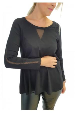 Μπλούζα-Φορεμα με Τούλι