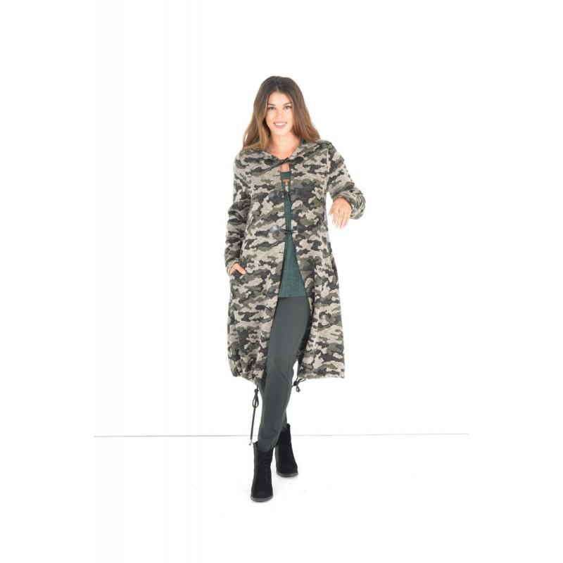 Fuego Fashion - Ζακέτα Παραλλαγής  Ζακέτες xxl