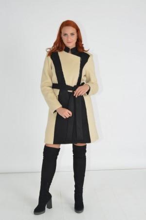 Παλτό Δίχρωμο