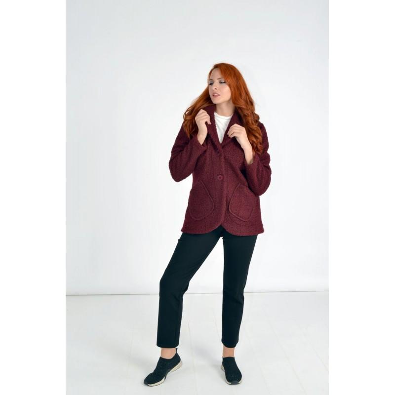 Μοντερνα plus size ρουχα - Fuego Fashion - Ζακέτα Μπουκλέ