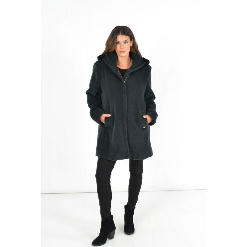 Fuego Fashion - Ζακέτα με Γιακά Ζακέτες xxl