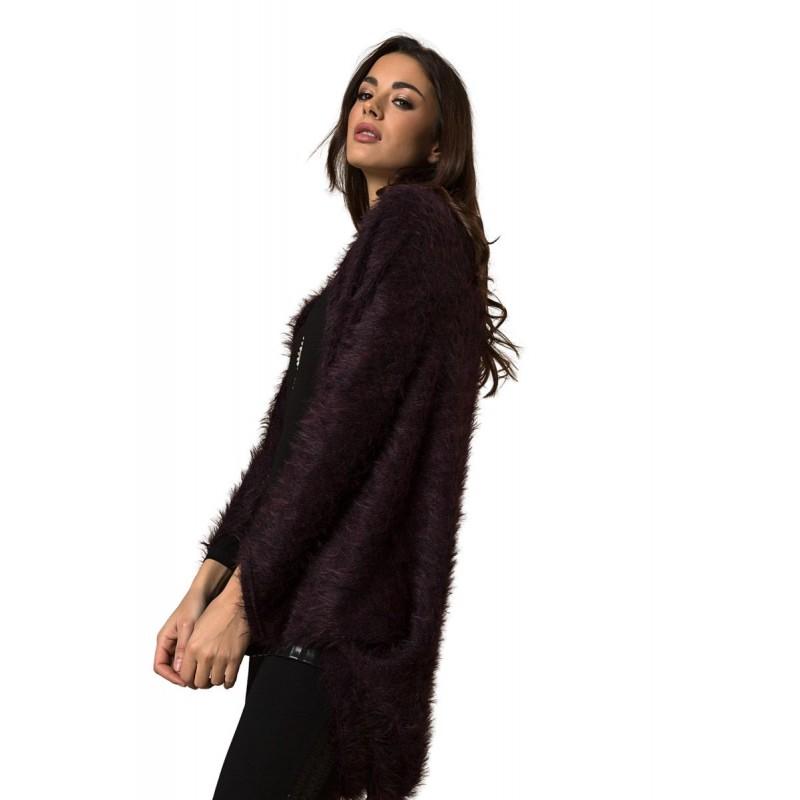 Μοντερνα plus size ρουχα - Fuego Fashion - Μπολερό Τρίχα Ζακέτες xxl
