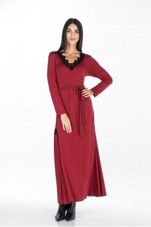 Φόρεμα Μάξι με Δαντέλες