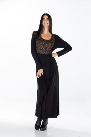 Φόρεμα με Άνιμαλ και Βολανάκι