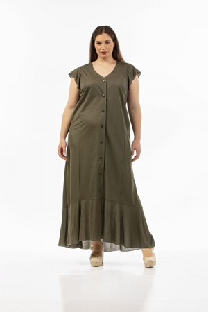 Φόρεμα Σεμιζιέ σε Πικέ/Λούρεξ