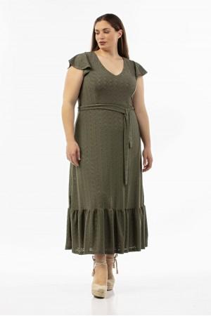 Φόρεμα από Ελαστικό Κιπούρ Δαντελα