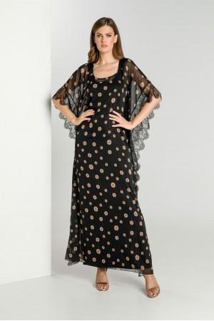 Φόρεμα Εμπριμέ Καφτάνι