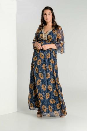 Φόρεμα Λούρεξ Φλοράλ