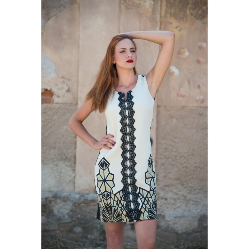 Οικονομικα Βραδινα Φορεματα - Fuego Fashion - Φορεματα xxl – φορεματα μινι λουρεξ με καθετη τρεσα