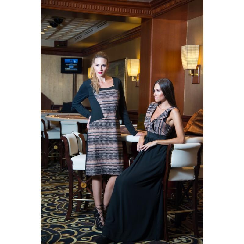 Fuego Fashion - Φορεματα xxl – φορεματα μιντι με λουρεξ μπροστα