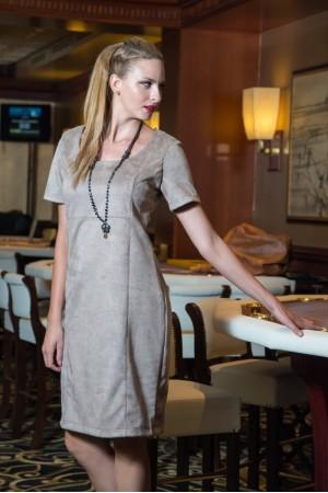 Φόρεμα Μίντι Σουέτ