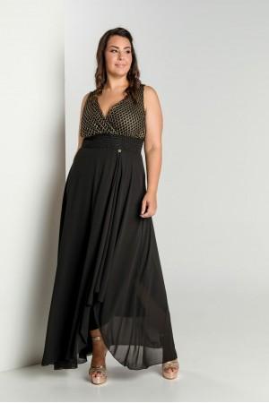 Φόρεμα Δαντέλα Δίχτυ