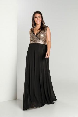 Φόρεμα Μουσελίνα με Άνιμαλ