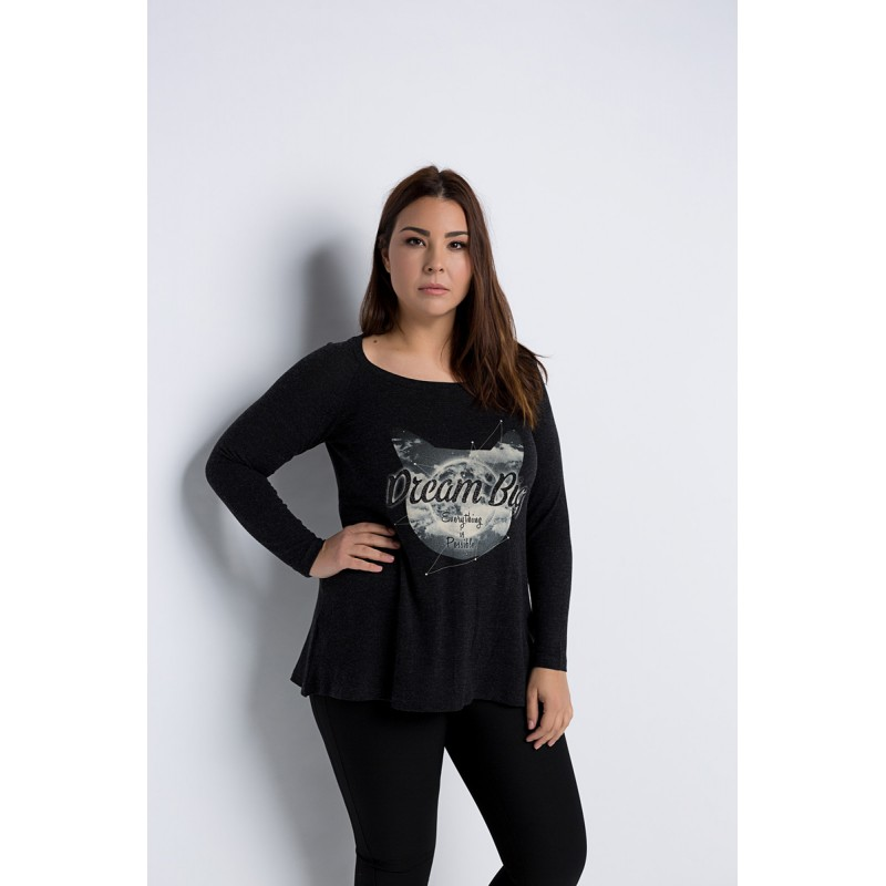Fuego Fashion - μπλουζες με σταμπα drea big